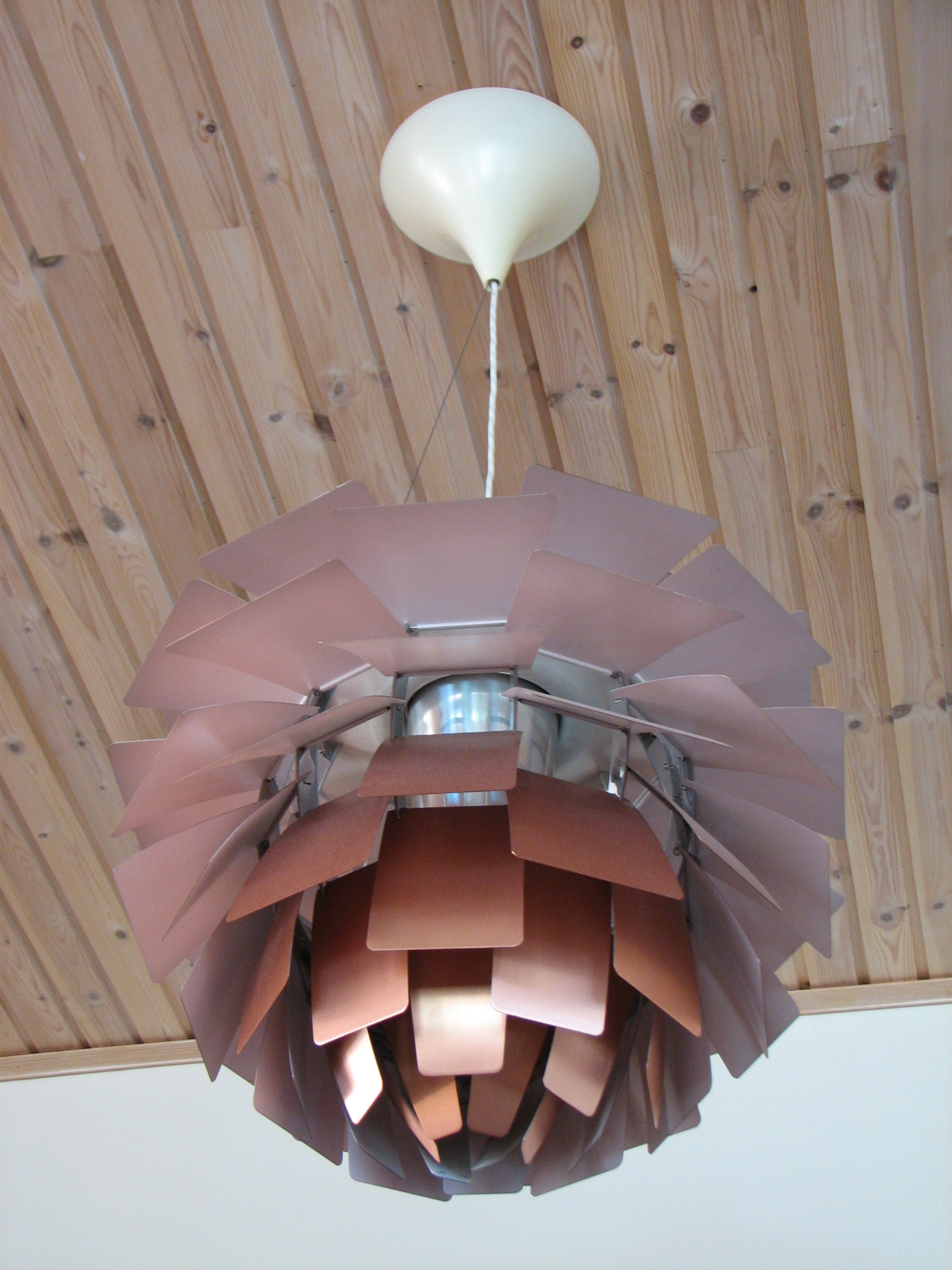 artichoke lamp photo - 2