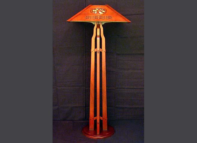 Craft floor lamps gurus floor for Ottlite 3 in 1 craft floor lamp