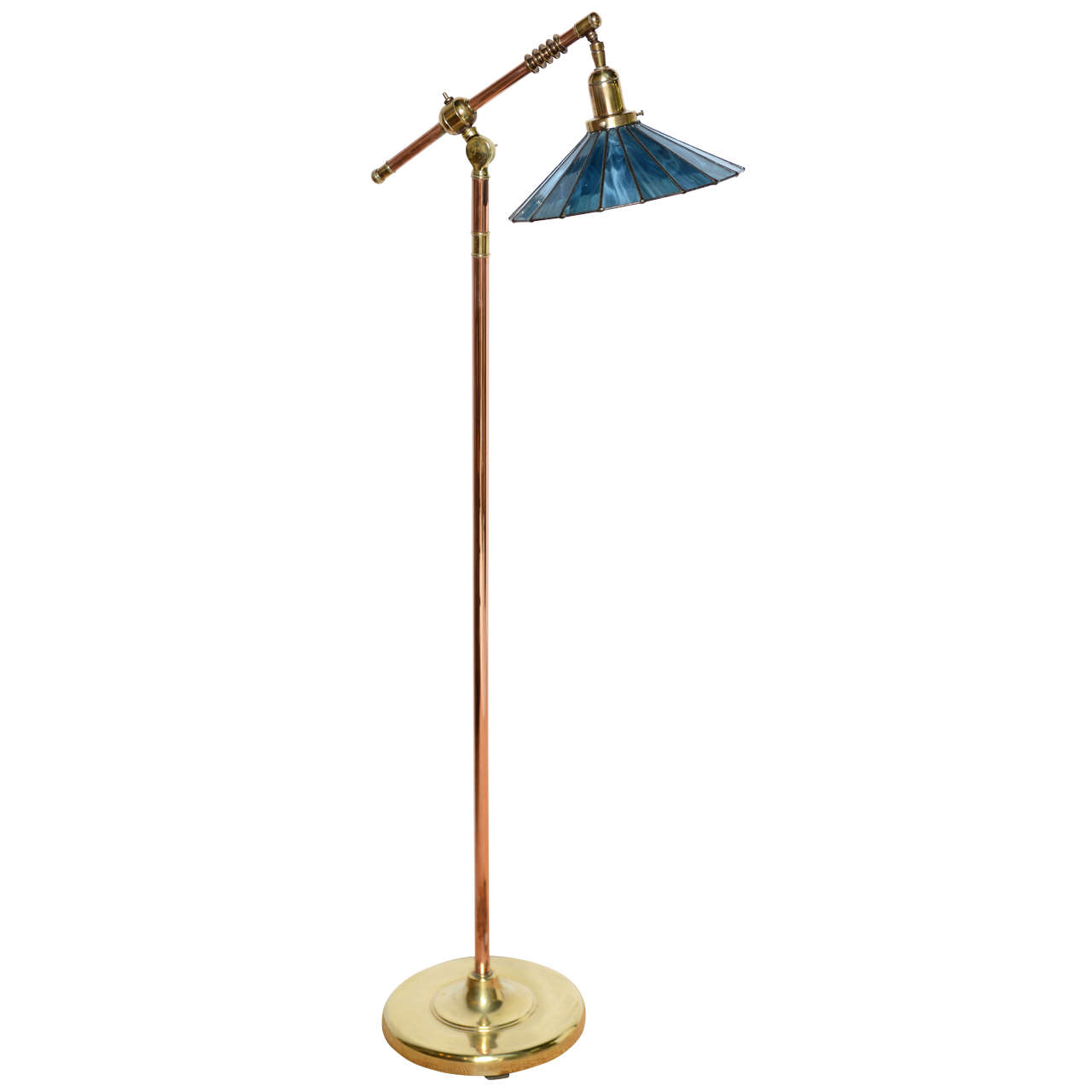 arts and crafts floor lamp photo - 7