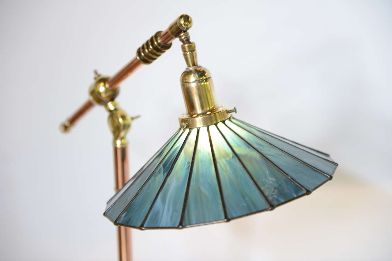 arts and crafts floor lamp photo - 8