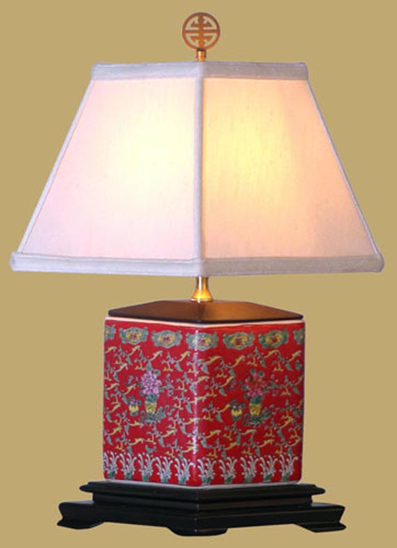 asian table lamps photo - 2