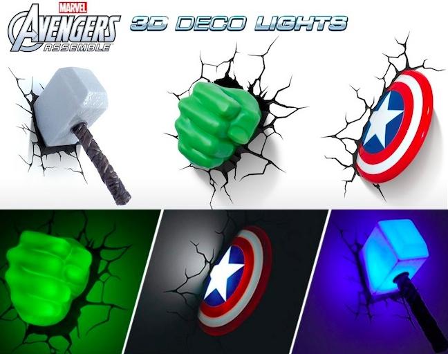 avengers lamps photo - 1