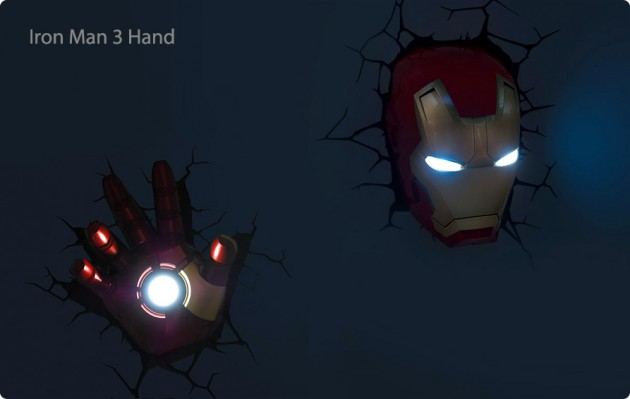 avengers wall lights photo - 10
