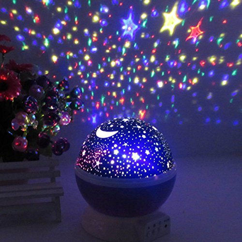 baby night light ceiling projector photo - 9