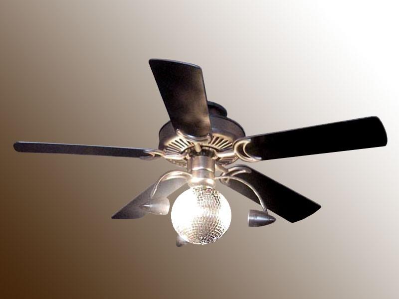ball ceiling fan photo - 5
