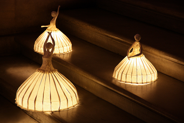 ballerina lamp photo - 1