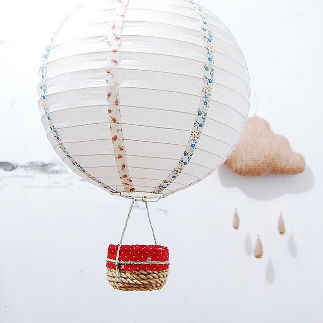 balloon lamp photo - 1