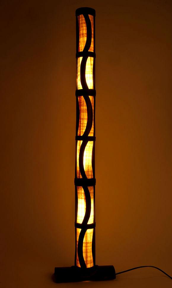 bamboo floor lamps photo - 10