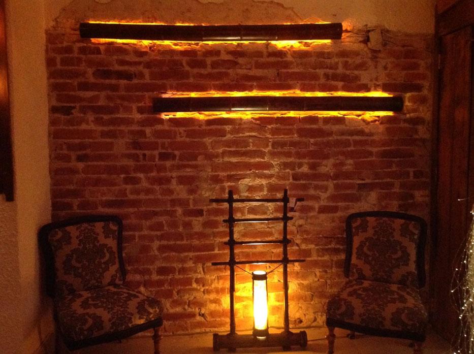 bamboo floor lamps photo - 6