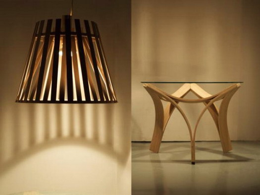 bamboo lamps photo - 7