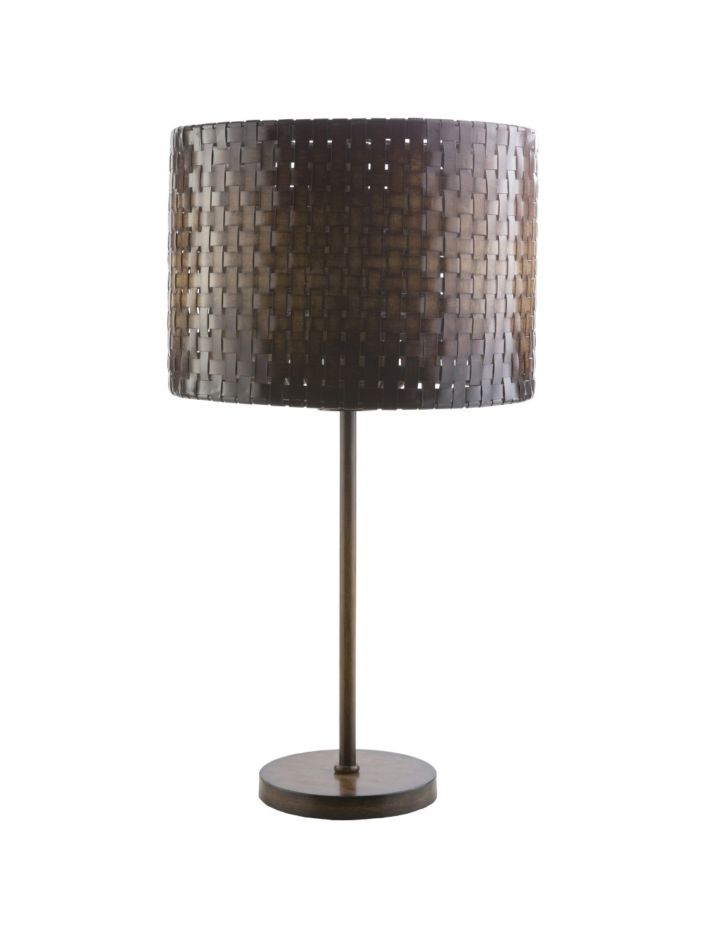bamboo table lamp photo - 4