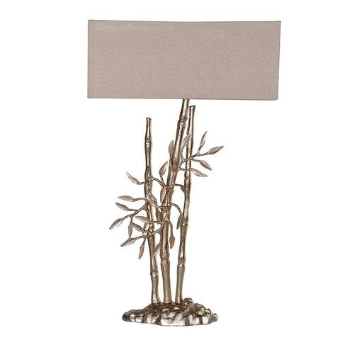 bamboo table lamp photo - 8