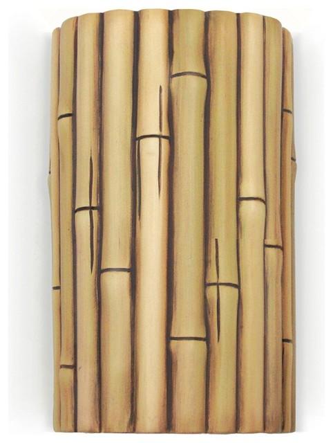 bamboo wall lights photo - 10