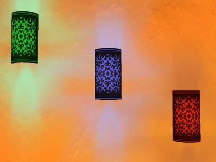 bamboo wall lights photo - 6
