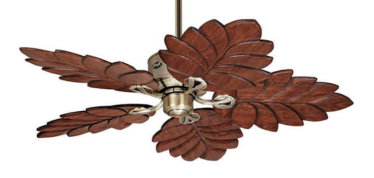 banana leaf ceiling fan photo - 4