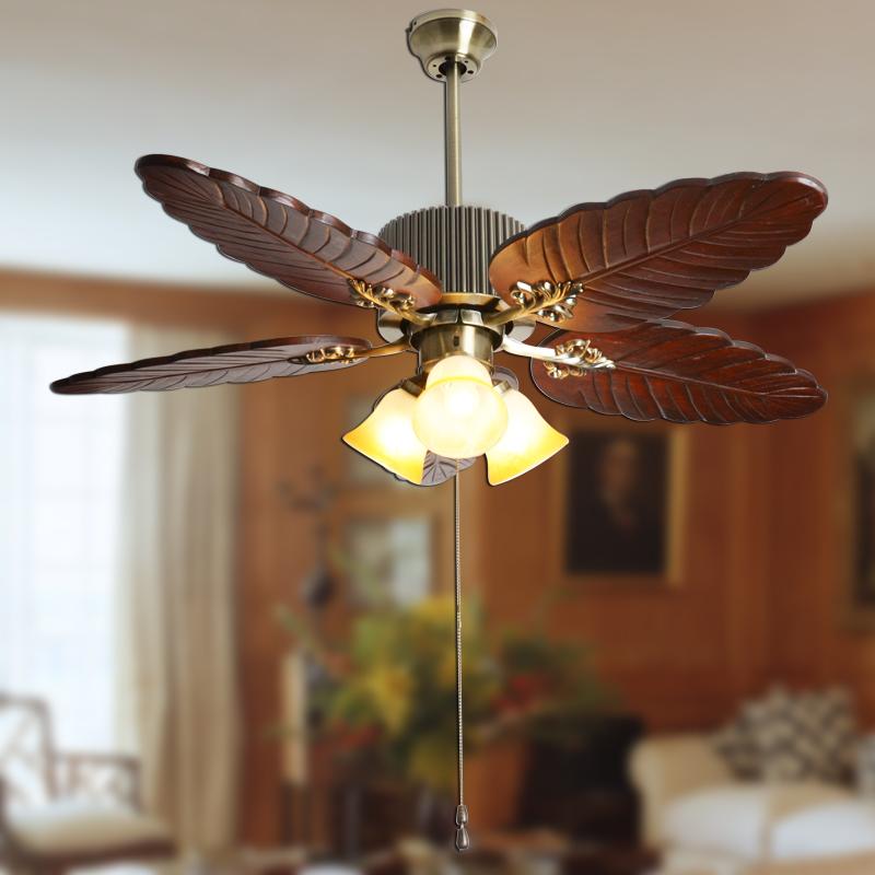 banana leaf ceiling fan photo - 6