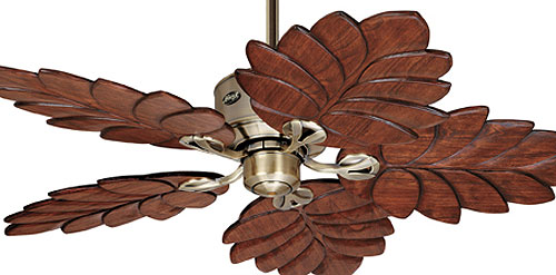 banana leaf ceiling fan photo - 7