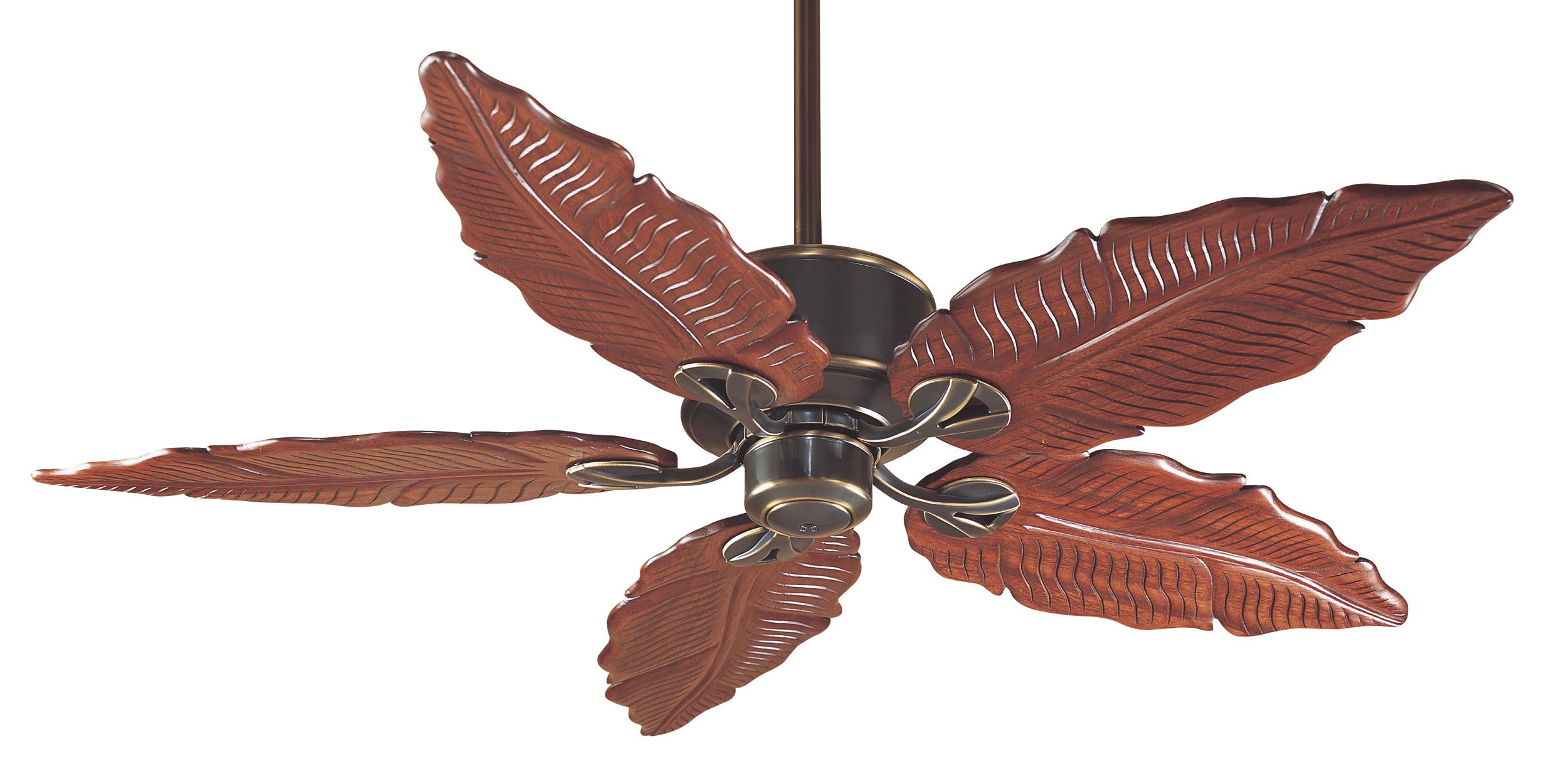 banana leaf ceiling fan photo - 9