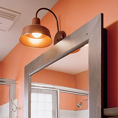 barn light wall sconce photo - 8
