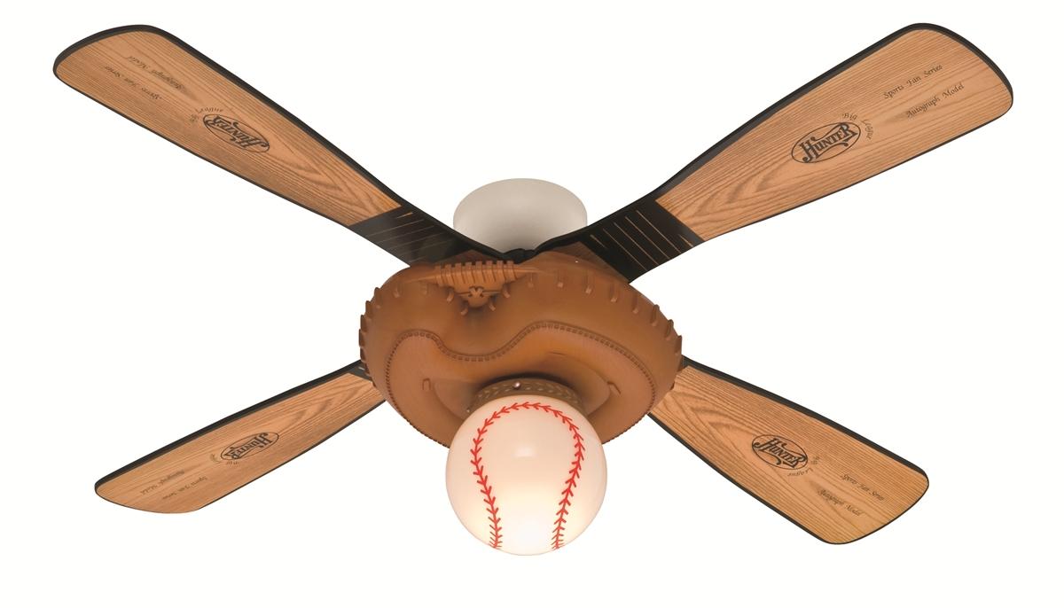 baseball ceiling fans photo - 1