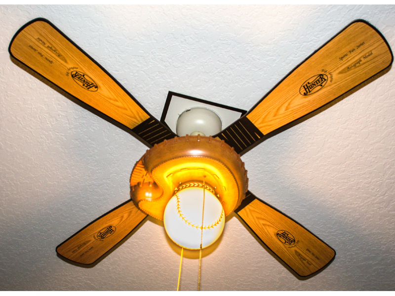 baseball ceiling fans photo - 9