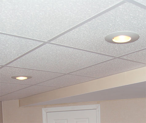 basement ceiling lights photo - 2