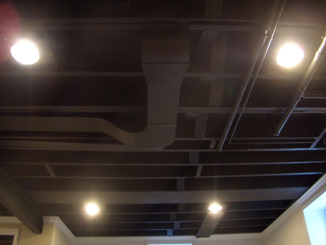 basement ceiling lights photo - 3