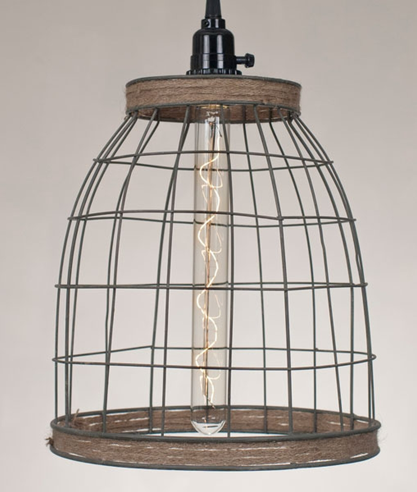 basket lamp photo - 10