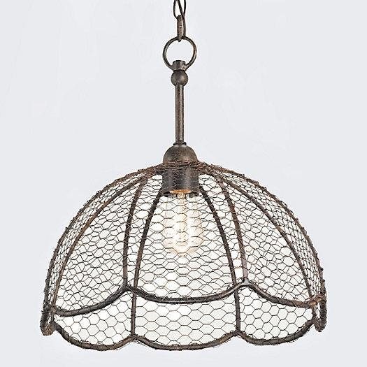 basket lamp photo - 7