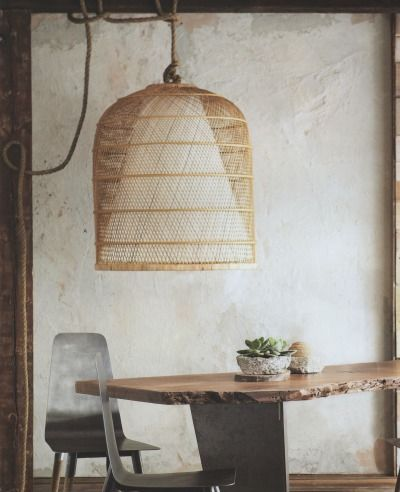 basket lamp photo - 9