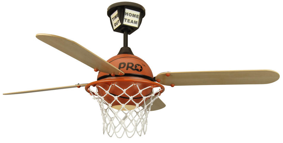 basketball ceiling fan photo - 1