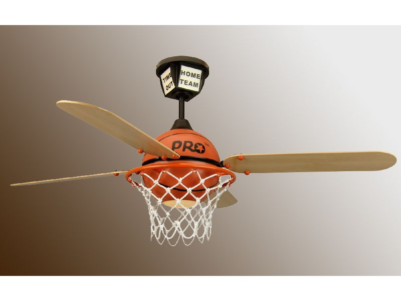 basketball ceiling fan photo - 2
