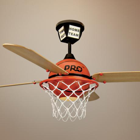 basketball ceiling fan photo - 3