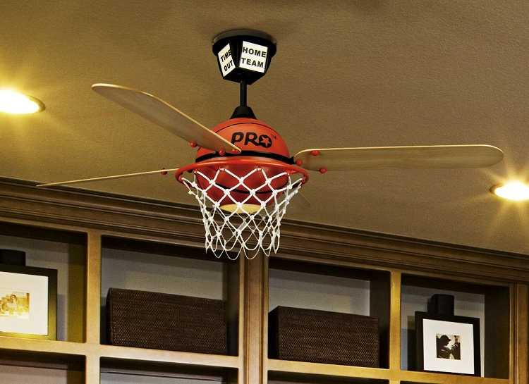 basketball ceiling fan photo - 8