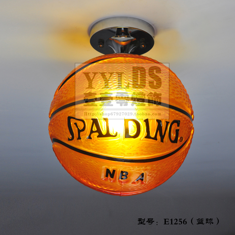 basketball ceiling light photo - 1