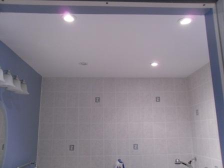bathroom recessed ceiling lights photo - 1