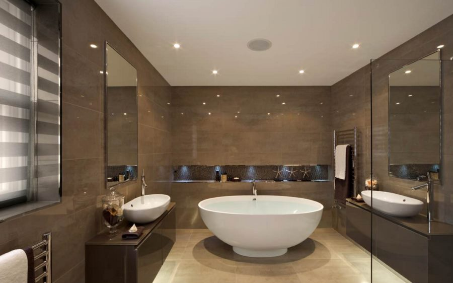 bathroom recessed ceiling lights photo - 5
