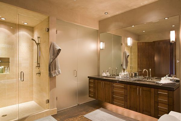 bathroom recessed ceiling lights photo - 7