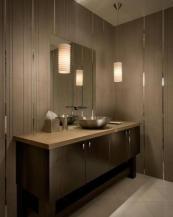 bathroom wall lights traditional photo - 3