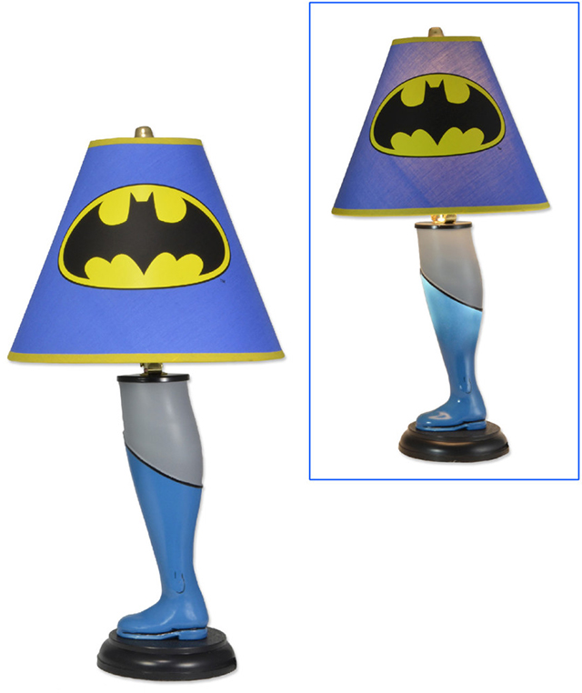 batman leg lamp photo - 1