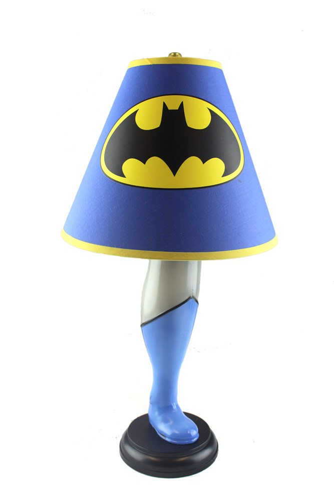 batman leg lamp photo - 2