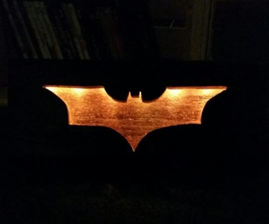 batman wall light photo - 10