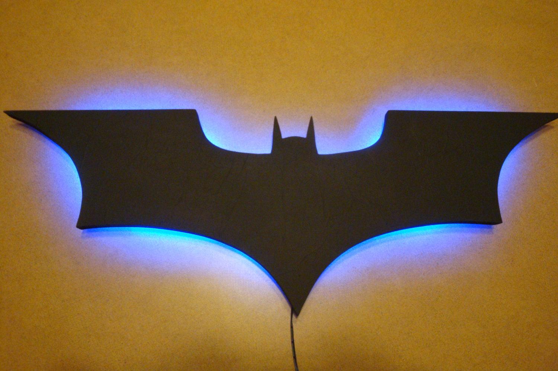 batman wall light photo - 3