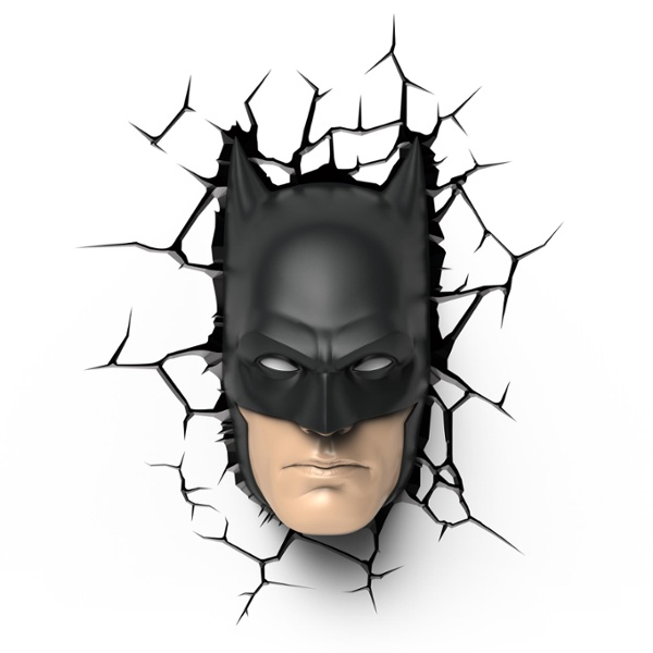 batman wall light photo - 6
