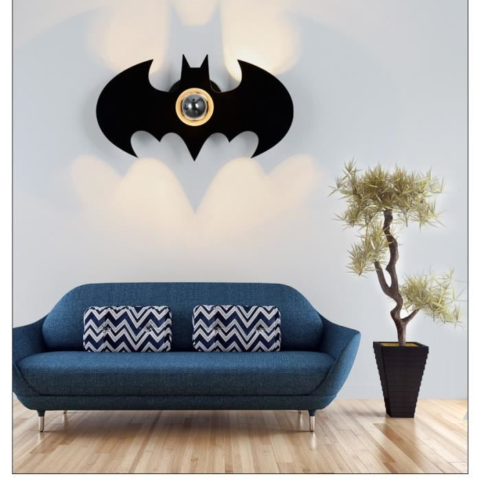batman wall light photo - 9