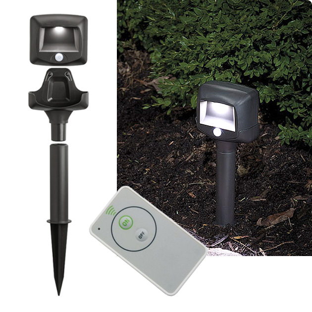 Outdoor security lighting battery powered battery operated security battery operated spotlight outdoor home design ideas aloadofball Gallery