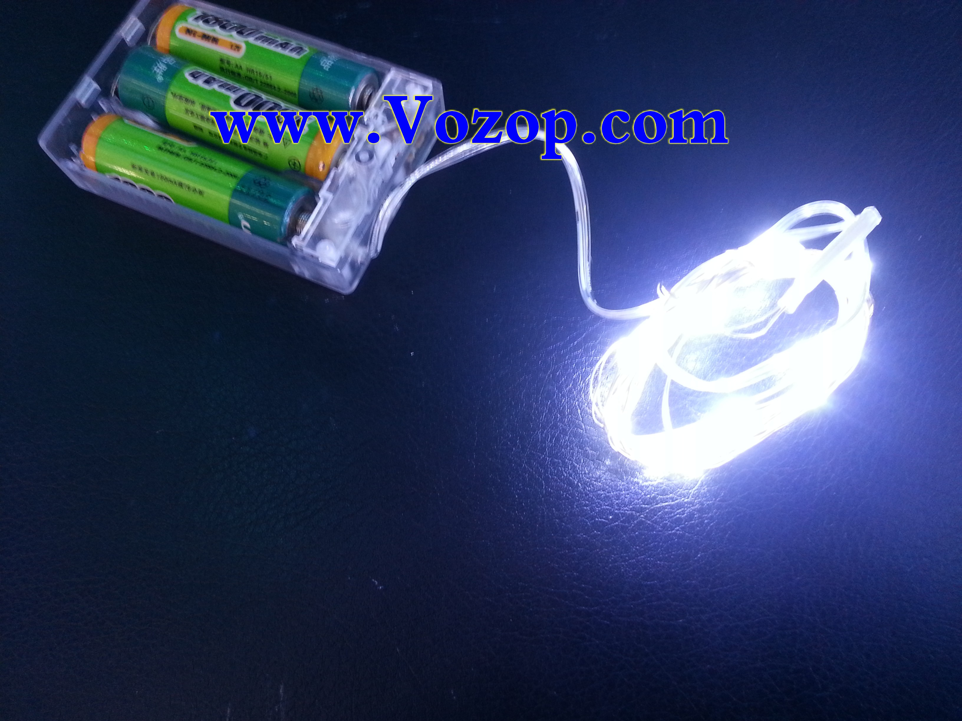 Battery outdoor led lights