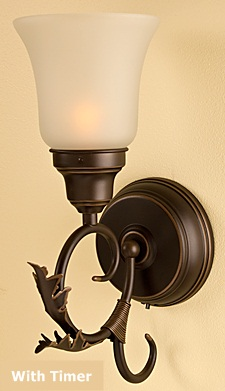 battery powered wall lights photo - 5