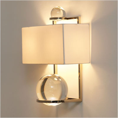 battery powered wall sconce lights photo - 2