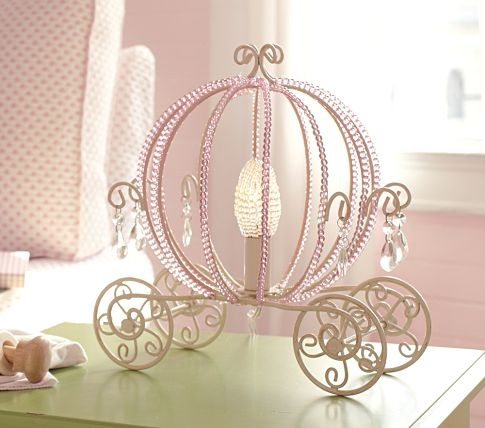 beaded table lamp photo - 9